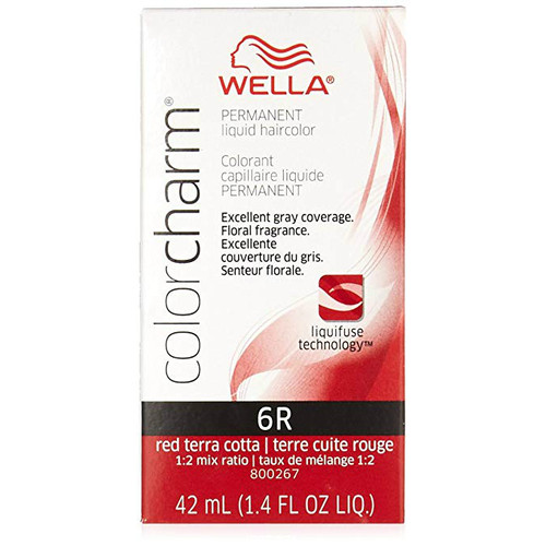 Wella 6R Color Charm - Red Terra Cotta
