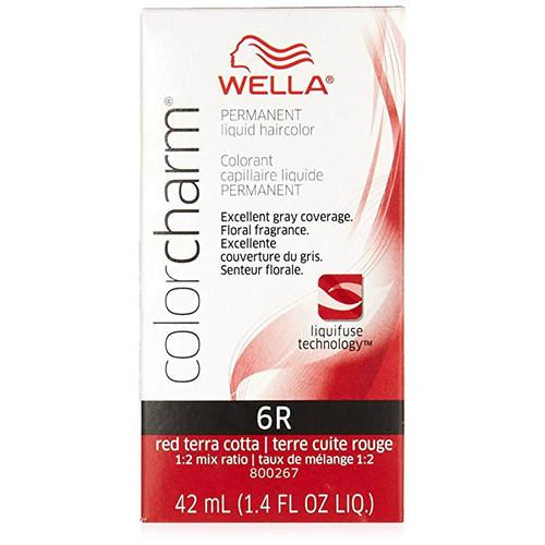 Wella 6R Color Charm - Red Terra Cotta