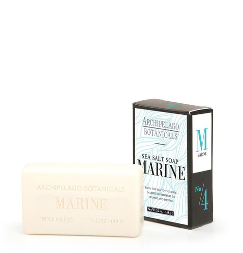 Archipelago Botanicals Marine Sea Salt Soap 5.2 Oz 148 G