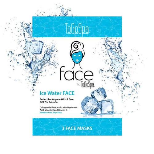 Togospa Ice Water Face Mask 3Pk