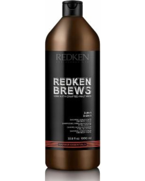 Redken Brews Extra Clean Shampoo 1L