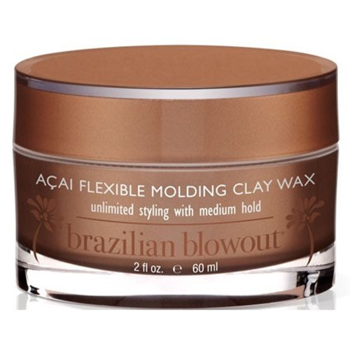 Brazilian Blowout Acai Flexible Molding Clay Wax 2 oz