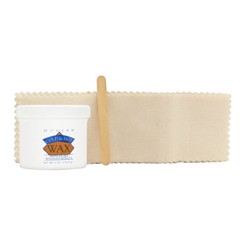 Moujan Cold & Hot Wax Kit 6 Oz