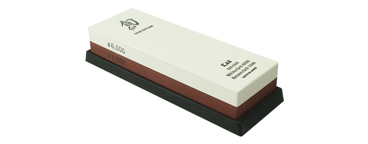 1000/6000-Grit Combination Whetstone