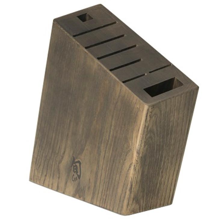 Kanso 8 Slot Wooden Angled Block