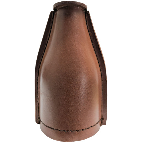 Leather Pill Pool Bottle