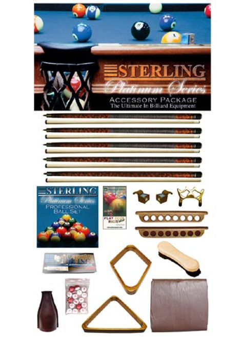Mahogany Platinum Play Package from Sterling