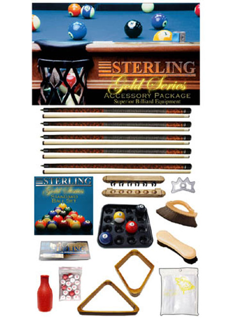 Mahogany Gold Play Package from Sterling