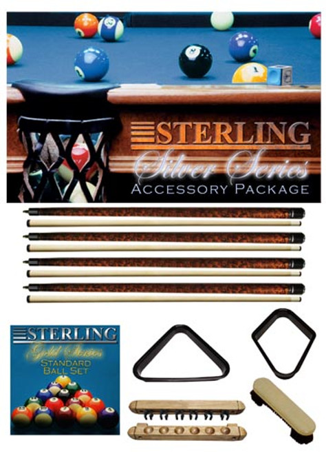Mahogany Silver Play Package from Sterling