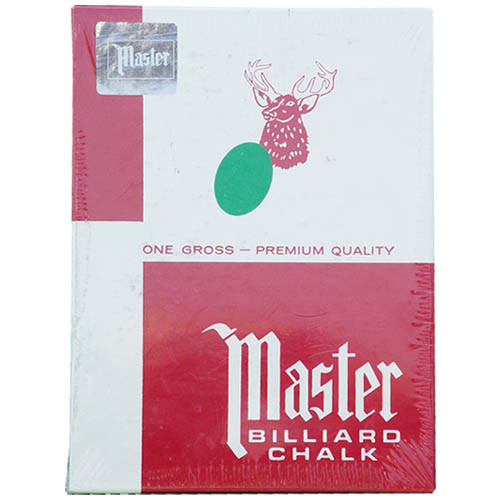 144 pieces of Green Master Chalk