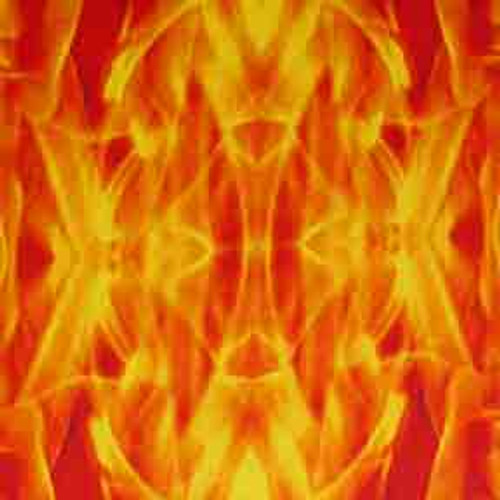 Flame 8' ArtScape Pool Table Felt