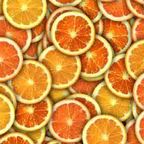 Orange Citrus 8' ArtScape Pool Table Felt