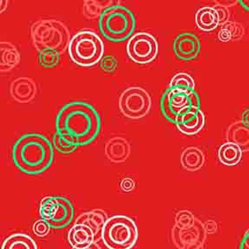 Red Rings 8' ArtScape Pool Table Felt