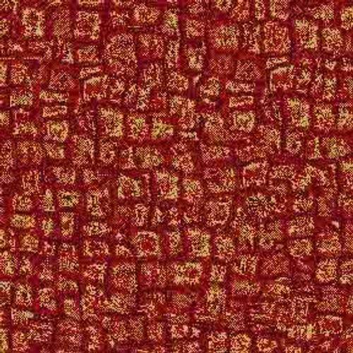 Red Mosaic 9' ArtScape Pool Table Felt