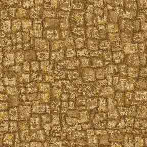 Gold Mosaic 9' ArtScape Pool Table Felt
