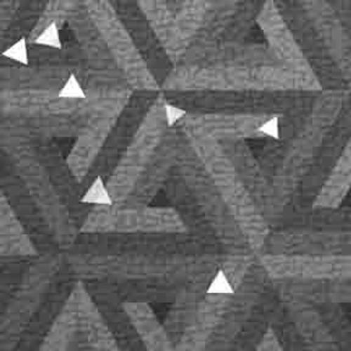Silver Triangles 9' ArtScape Pool Table Felt