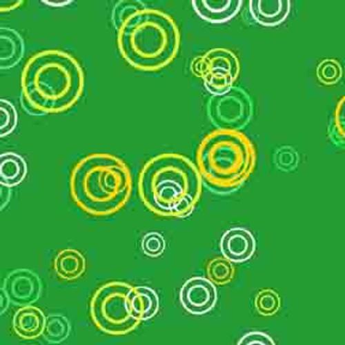 Green Rings 9' ArtScape Pool Table Felt