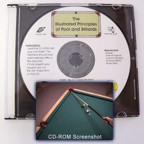 Pool and Billiards, The Illustrated Priciples CD