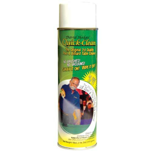 Foaming Aerosol Pool Table Cleaner