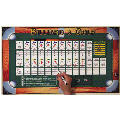 Golf Score Board