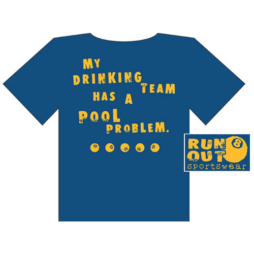 Drinking' Tee Shirt from Run-Out