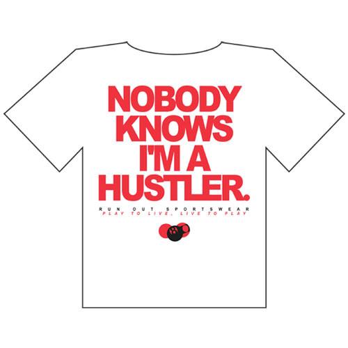 Hustler' Tee Shirt from Run-Out