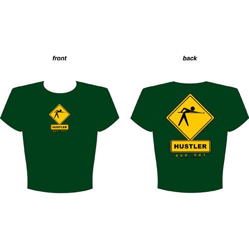Hustler Ahead T-Shirt, Green