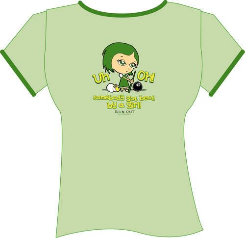 Uh-Oh T-Shirt, Green