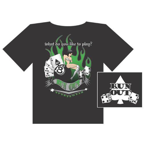 Gambling' Tee Shirt from Run-Out