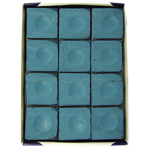 Blue Silver Cup Chalk, Dozen per box