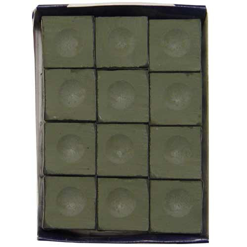 Olive Silver Cup Chalk, 12 pc. Box
