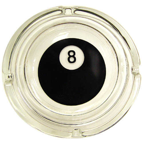 Ash Tray  8-Ball