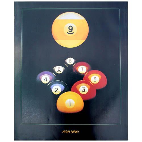 9 Ball Poster