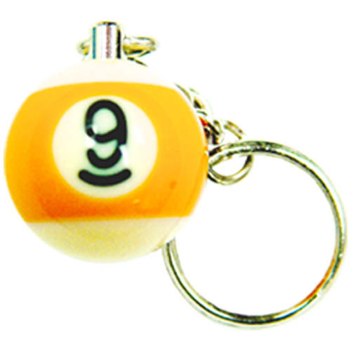 9-Ball Key Ring