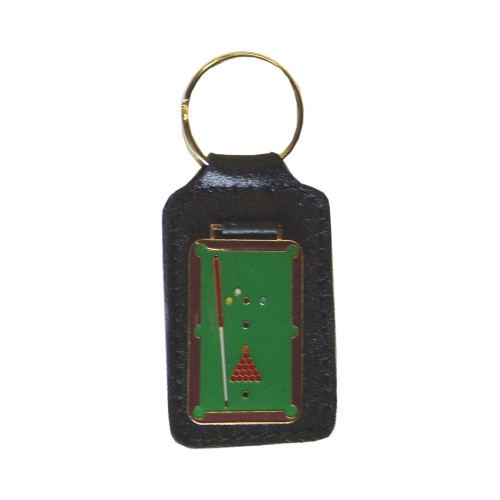 Leather Key Ring Pool Table