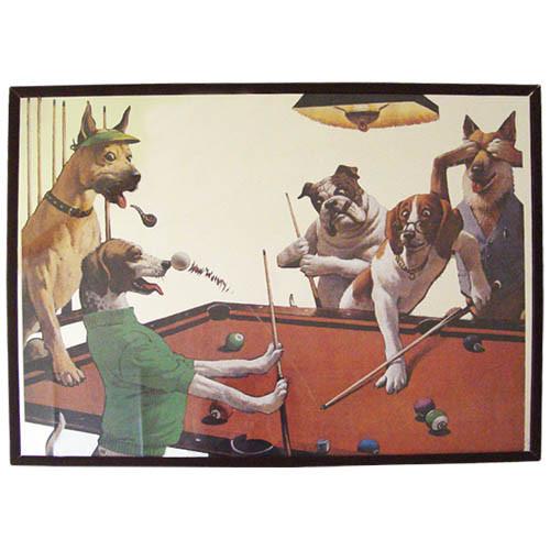 Pool Dog Mirror - Beagle