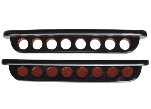 Black 8 Cue Deluxe Wall Rack