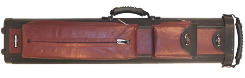 Black and Wine Rolling Case 4 x 8