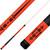 Forged Etched Series ET04 Custom Engraved Orange Pool Cue – Black