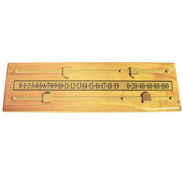 Oak Scoreboard Pool Table Accessory