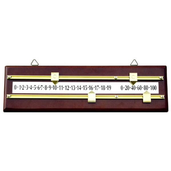 Mahogany Scoreboard Pool Table Accessory