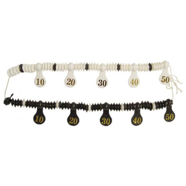 Plastic Scoring Beads for Straight Pool