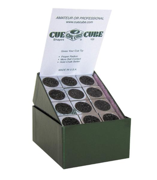 Cue Cube - Tip Shaper and Scuffer