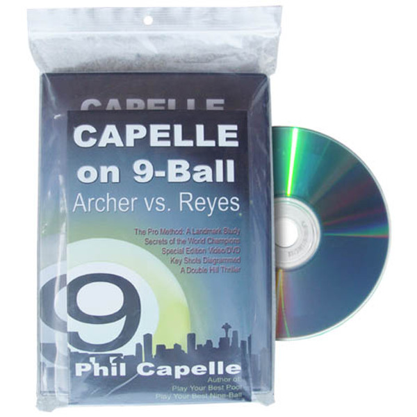 Archer vs Reyes, Capelle on Nine Ball, Book and DVD