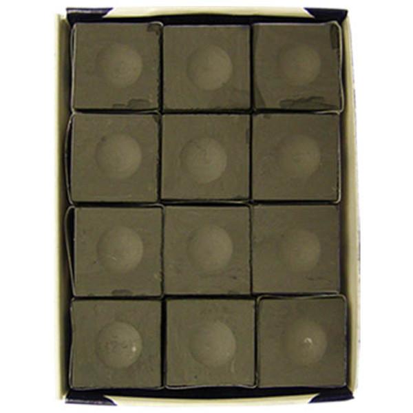 Charcoal Silver Cup Chalk, Dozen per box
