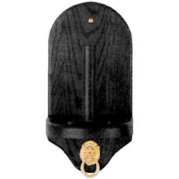 Black Wooden Cone Talc Dispenser