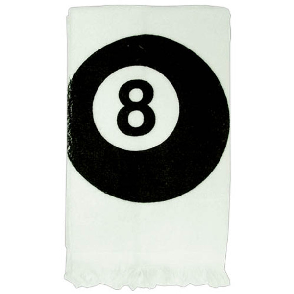 Hand Towel 8 Ball