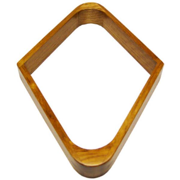 Diamond Pool Ball Rack With Oak Finish