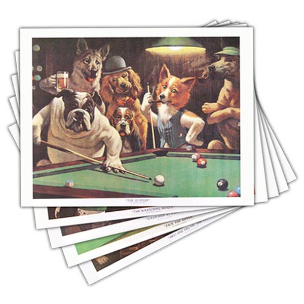 Pool Dog Prints - Set