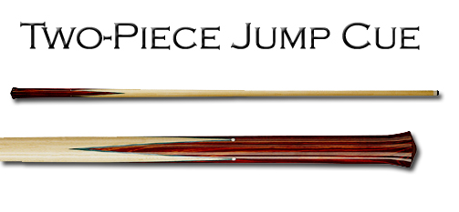 Two Piece Jump Pool Cue